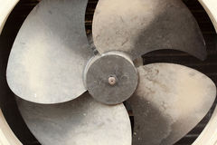 Ventilation fan of air conditioner Stock Photos