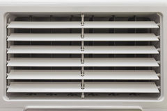 Ventilation. Fans for air conditioning up and down alternately Royalty Free Stock Photo
