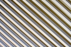 Ventilation grille. Closeup of the pattern of a metallic ventilation grille Royalty Free Stock Photography