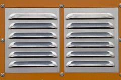 Ventilation grille Royalty Free Stock Image