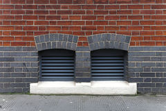 Ventilation inlets Royalty Free Stock Photos