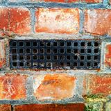 Air brick in wall. I upload this file exclusively on Dreamstime.com. I acknowledge and warrant that I have read and agree with the Exclusivity Terms and stock images