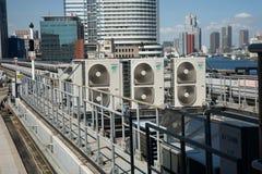Ventilation Japon Tokio de système Image stock