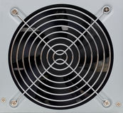 Ventilation lattice. On the rear PC board royalty free stock photography