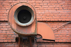 Ventilation pipe Royalty Free Stock Photography