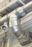 Ventilation pipes Royalty Free Stock Photos