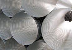 Ventilation pipes Stock Photos