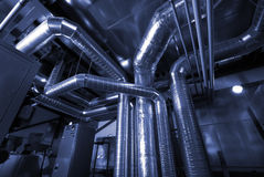 Free Ventilation Pipes Of An Air Condition Stock Photography - 13728252
