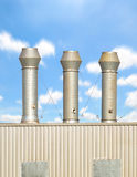Ventilation system Royalty Free Stock Images
