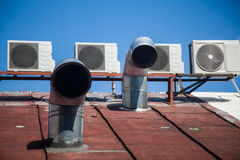 Ventilation system Stock Photo