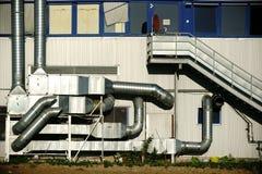Ventilation system public building Stock Photo