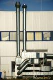 Ventilation system public building Stock Photography