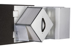 Ventilation systems, heat recovery unit.  royalty free stock photos