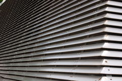 Ventilation tower. Part of a ventilation tower royalty free stock images
