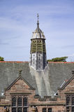 Ventilation tower of slate roof Royalty Free Stock Photos