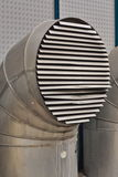 Ventilation tube. Big ventilation tube for clima on the street Royalty Free Stock Images