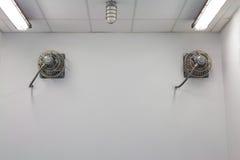 Ventilationsfan Arkivbilder