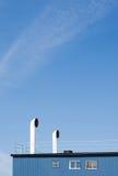 Ventilationskanaler Arkivbild