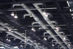 Ventilationskanaler Arkivbilder
