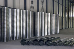 Ventilationsrohre Stockbilder