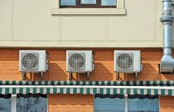 Ventilationssystem Arkivbild