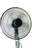 Ventilator. Home runs the fan on a white background Royalty Free Stock Photo