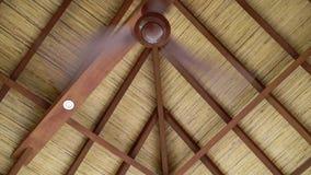 Ventilator bij het dak stock footage