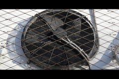 Ventilator in der Zeitlupe stock video footage