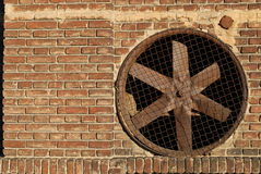 Ventilator. A detail of old barn with ventilator Royalty Free Stock Photography