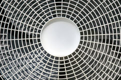 Ventilator. Detail of a spinning ventilator of an air condition device Royalty Free Stock Photo