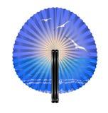 Ventilator en ochtend vector illustratie