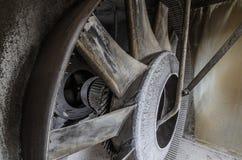 ventilator in fabrieksdetail Stock Foto