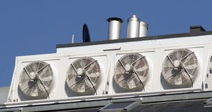 Free Ventilator Fans Royalty Free Stock Photo - 2436105