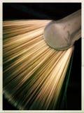 Ventilator gevormde verfborstel Royalty-vrije Stock Foto's