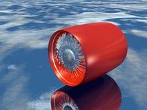 Ventilator Jet2 Stock Foto's