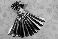 Ventilator met vorken wordt gemaakt die Stock Fotografie