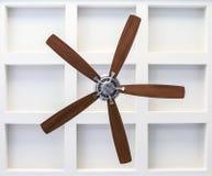 Ventilator op Caissonbalkplafond royalty-vrije stock foto