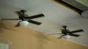 Ventilator op de bovenkant stock videobeelden