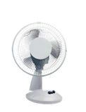 Ventilator op een wit Stock Foto
