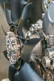 Ventilator, propeller, voor de luchtkoelings motor Royalty-vrije Stock Fotografie