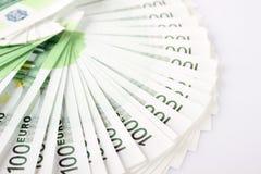 Ventilator van euro Stock Afbeeldingen