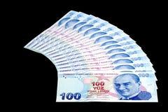 Ventilator van honderd Lires Royalty-vrije Stock Afbeelding