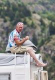 Ventilator van Le-Ronde van Frankrijk Stock Fotografie