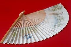 Ventilatore asiatico fotografie stock