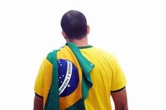 Ventilatore brasiliano fotografia stock