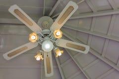 Ventilatore da soffitto Fotografie Stock