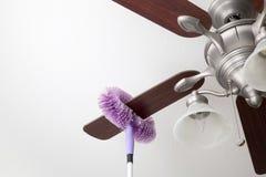 Ventilatore da soffitto di pulizia Fotografie Stock Libere da Diritti