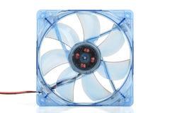 Ventilatore del computer trasparente. immagine stock libera da diritti