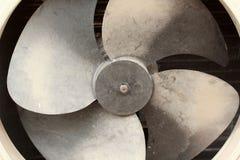 Ventilatore del condizionatore d'aria Fotografie Stock