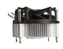 Ventilatore del CPU Fotografia Stock